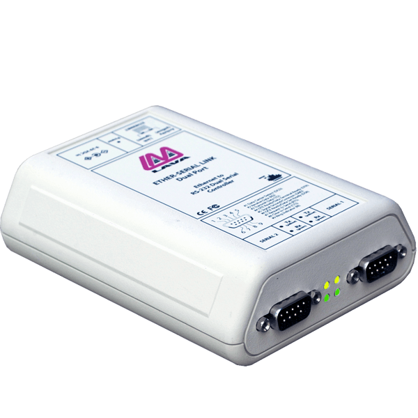Dual Ethernet-to-Serial Remote Port