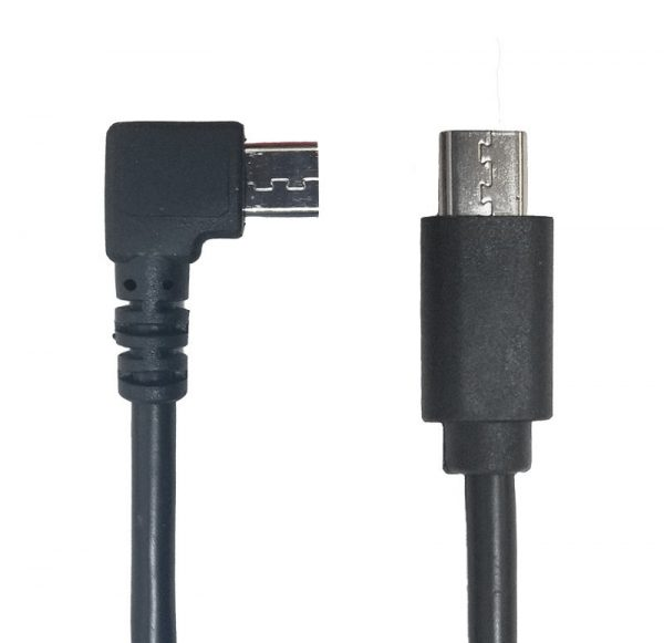 Micro-USB B Right Angle Cable