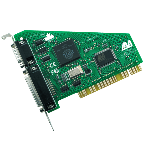 Combination Serial & Parallel PCI Card
