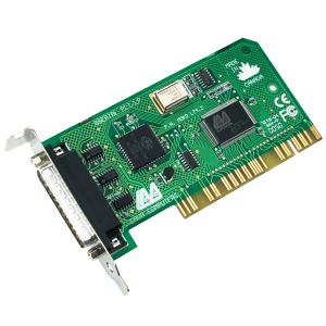 Low Profile Single Port Serial Card (PCI Bus 16550)