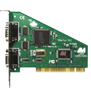 2-Port Serial Card (PCI Bus 16550)