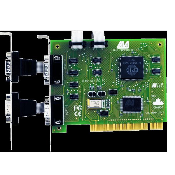 Quattro-PCI (PCI 4 port RS-232)