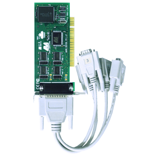 Four Port Low Profile Serial Card (PCI Bus 16550)