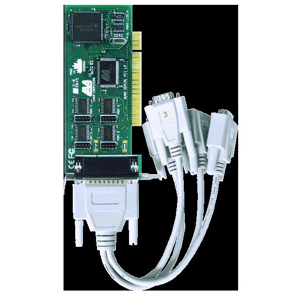 Four Port Low Profile Serial Card (PCI Bus 16550)