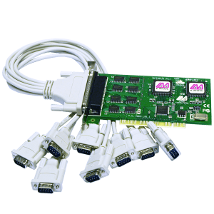 Eight Port Serial Card (PCI Bus 16550)