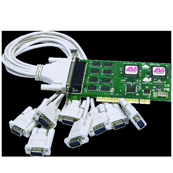 Eight Port Serial Card (PCI Bus 16550)