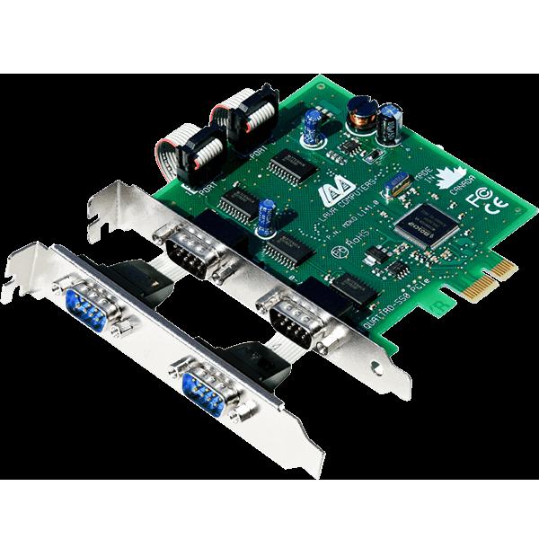 4-Port Serial Card (PCIe Bus 16550)