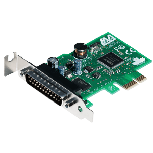 1-Port Low-Profile Serial Card (PCIe Bus 16550)