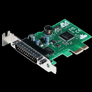 1-Port Low-Profile Serial Card (PCIe Bus 16550)