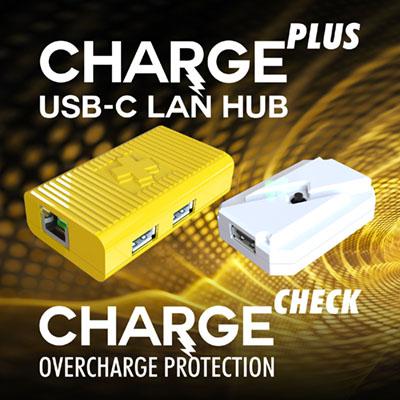 LAN HUB & Charge-Check Overcharge Protection