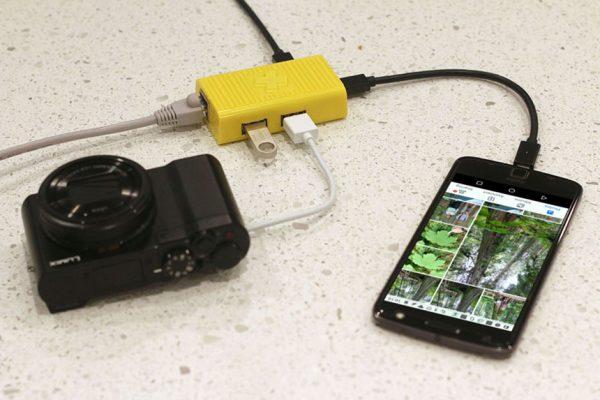 USB-C Ethernet 2 USB LAN HUB Adapter