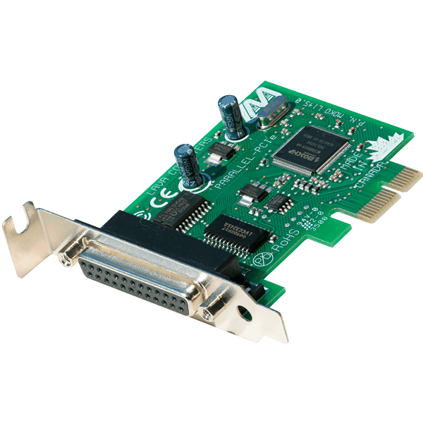 1 Port Parallel-PCIe Low Profile Card