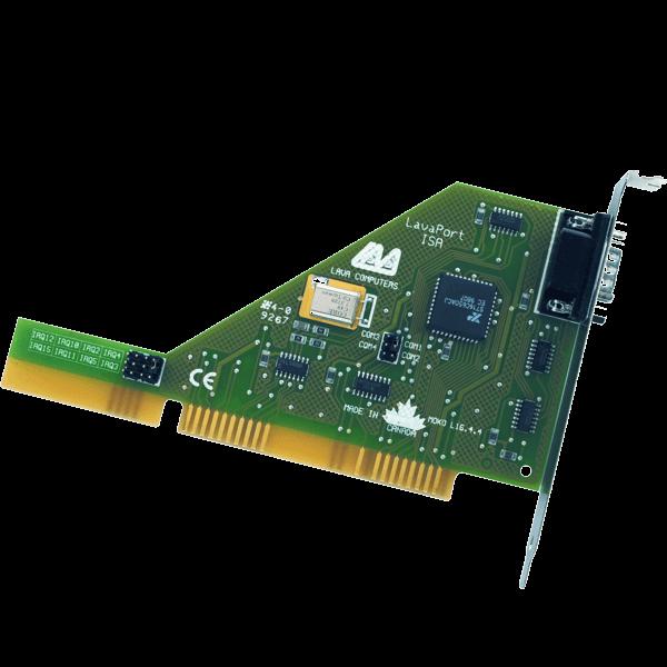 ISA 1 port RS-232 16650 UART PC Card