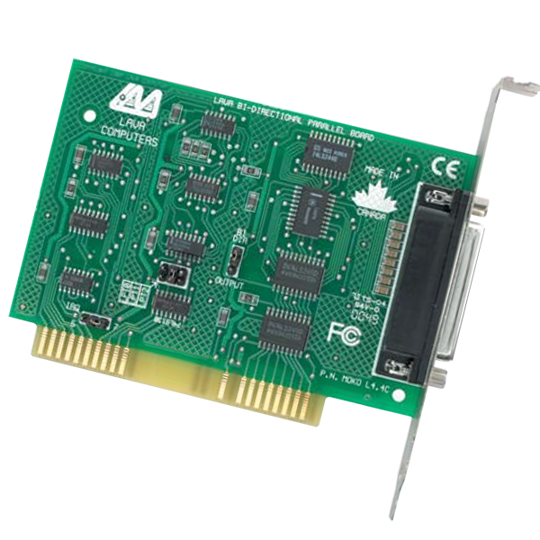 Parallel Bi-Directional ISA 2 port RS-422 PC Card
